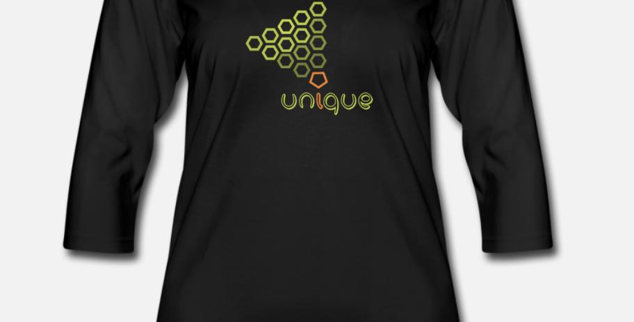 Maglietta da donna con manica a 3/4 | Unique