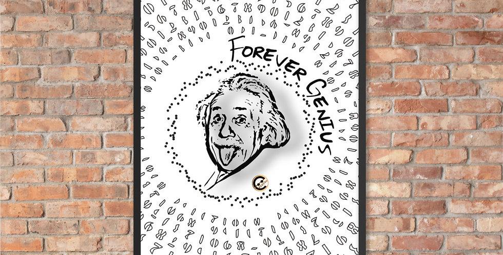 Poster Einstein | Forever Genius