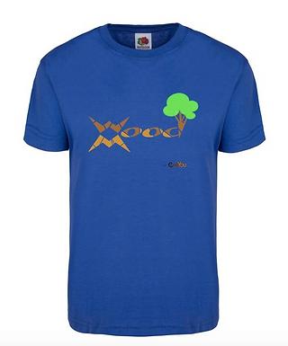T-shirt WoodMood 100%Cotone b.r.a.