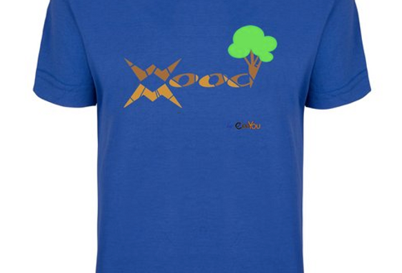 T-shirt WoodMood 100%Cotone b.r.a.