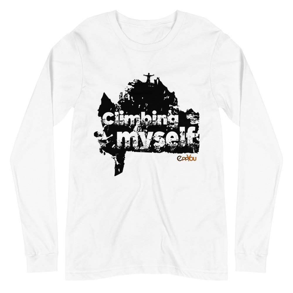 scalata dentro sè stessi eppyou t-shirt unisex
