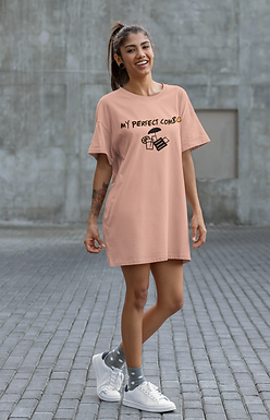 Organic cotton t-shirt dress | eppyou_summer_combo