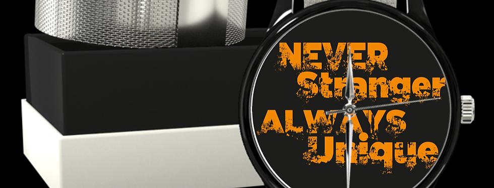 Orologio in Acciaio | Never Stranger