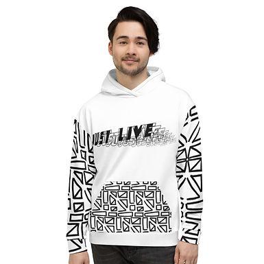 Just Live Hoodie_blank