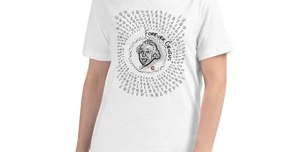 T-shirt Einstein.f   Forever Genius
