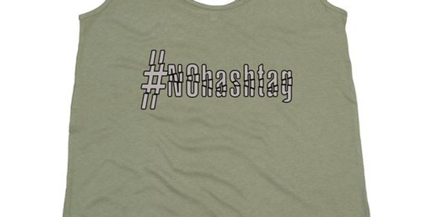 Canotta large da donna | #noHashTag