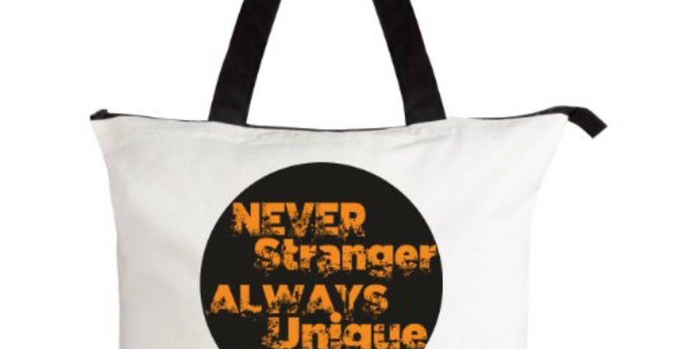 Borsa in Cotone BiColour | Never Stranger