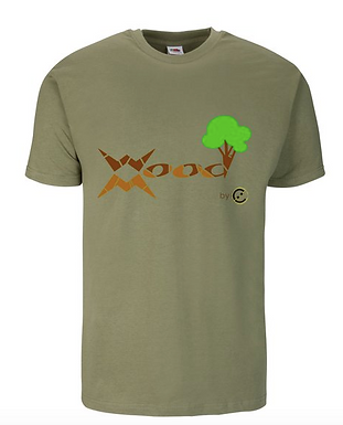 T-shirt WoodMood 100%Cotone