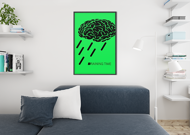 mockup-of-an-art-print-frame-placed-in-a