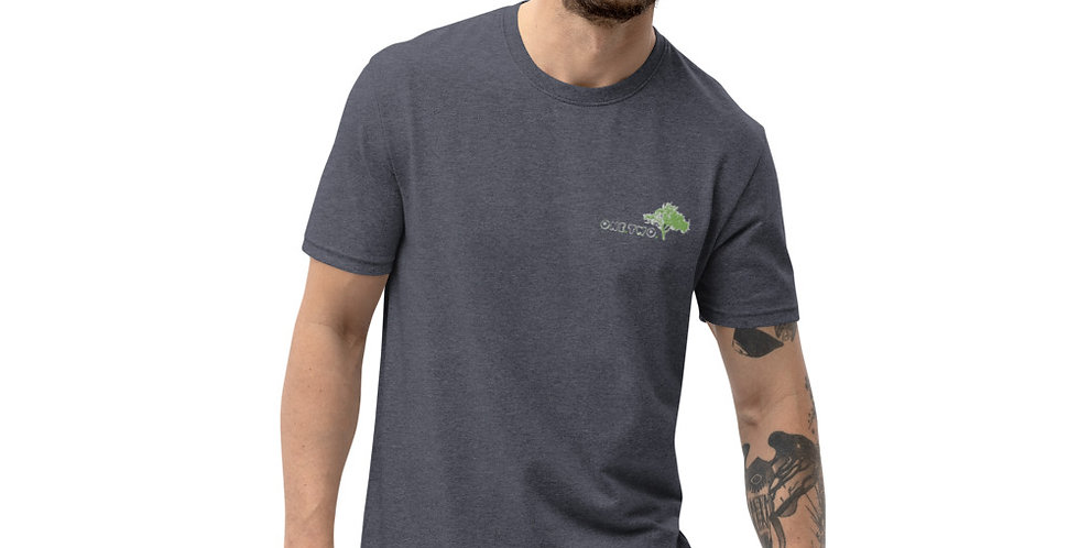 T-shirt in materiale riciclato | One,Two,Tree