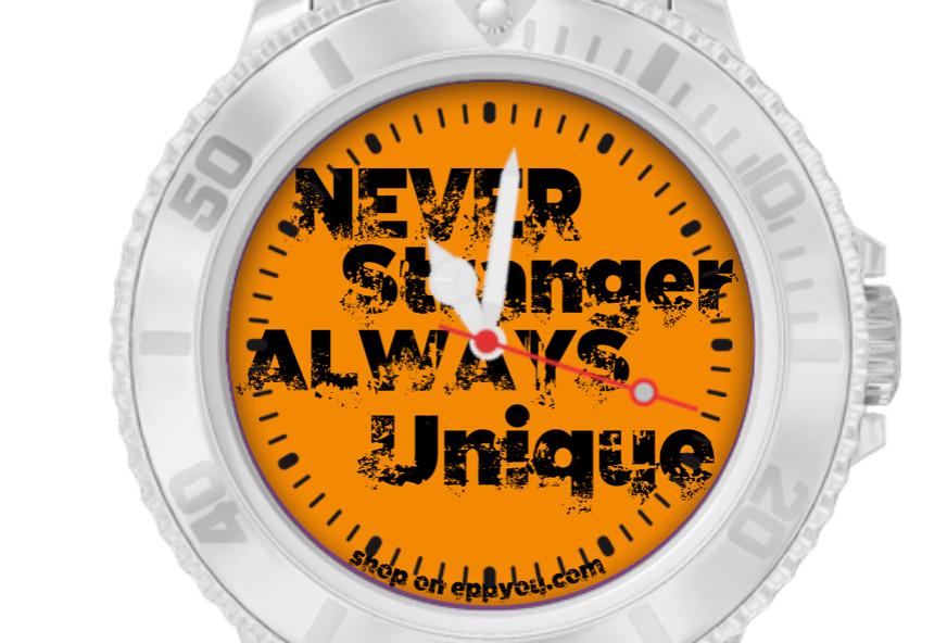 Orologio in Silicone | Never Stranger
