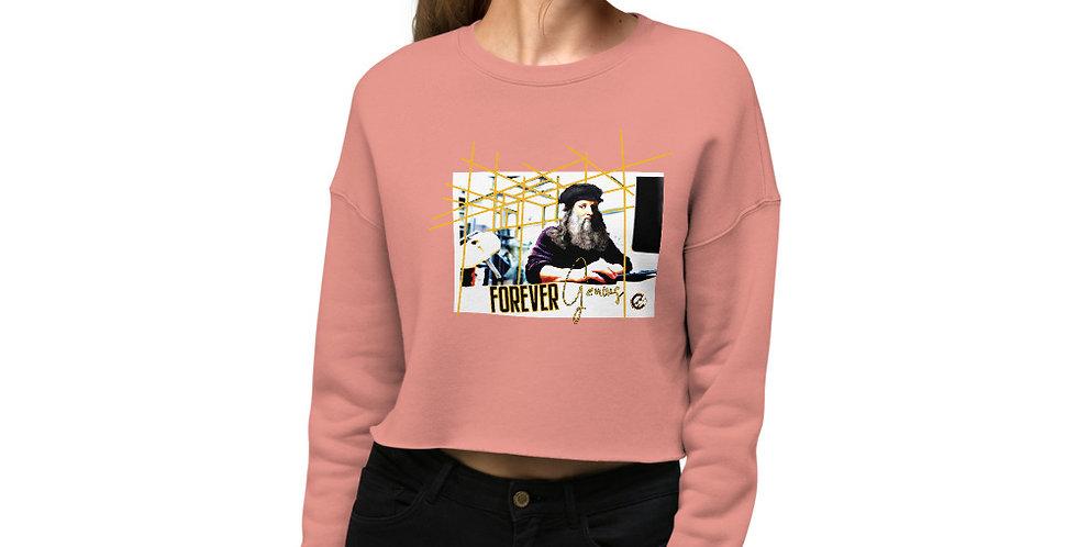 Crop Sweatshirt Forever Genius