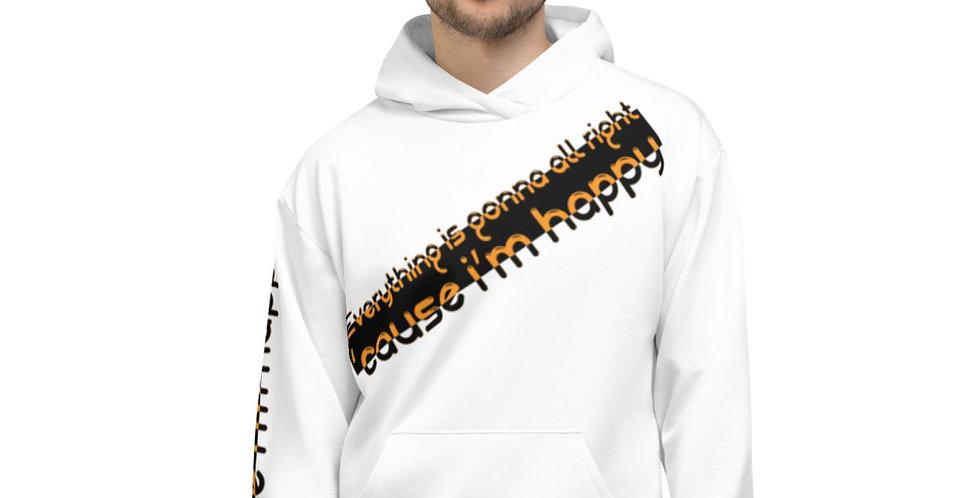 Unisex Hoodie AOP | I'm happy