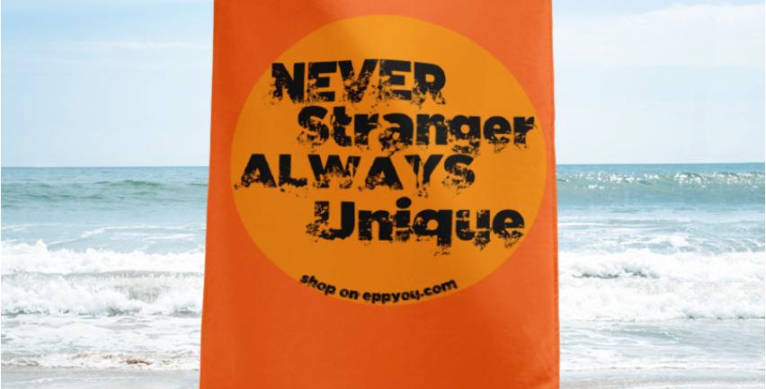 Asciugamano   Never Stranger