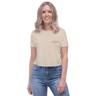 Long Crop T-Shirt | FingerUnique