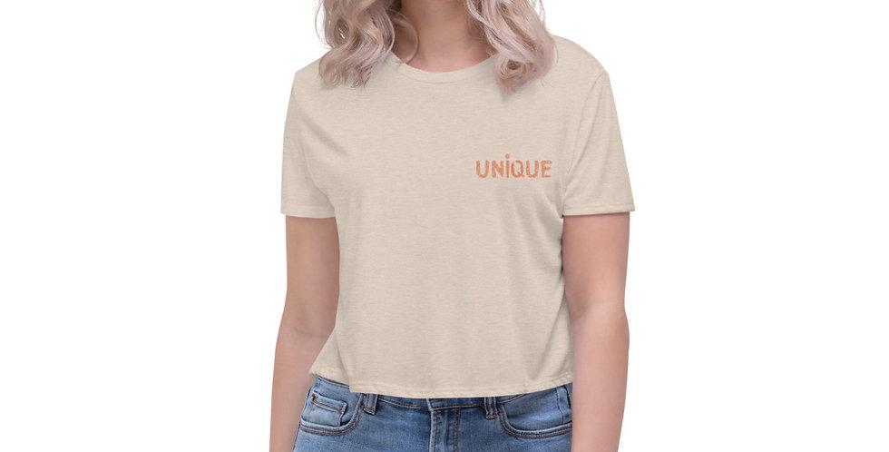 Long Crop T-Shirt | FingerUnique