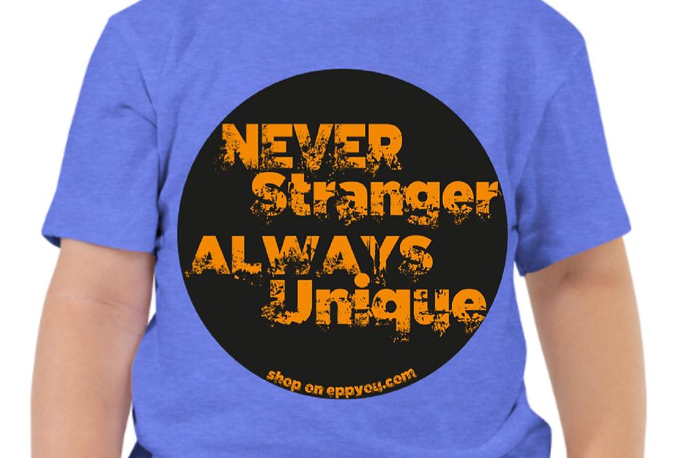 Kinder T-Shirt | Never Stranger
