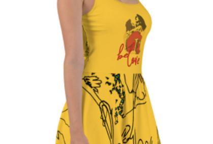 Vestitino Yellow beLove