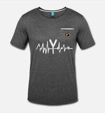 T-shirt con finto taschino | PulseY