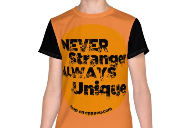 T-Shirt AllOverPrint Young | Never Stranger
