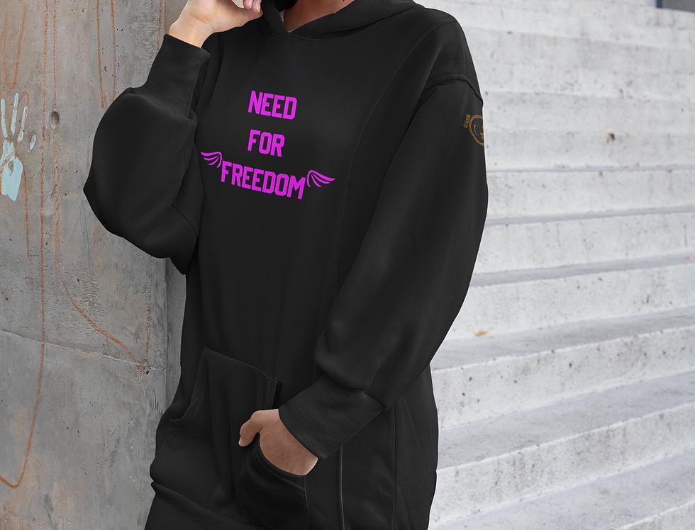 Hoodie dress | Need for Freedom