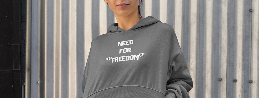 Crop Hoodie | Need for Freedom