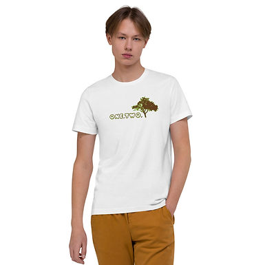 T-shirt in cotone biologico   One,Two,Tree