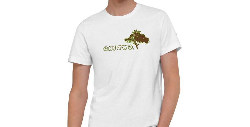 T-shirt in cotone biologico | One,Two,Tree