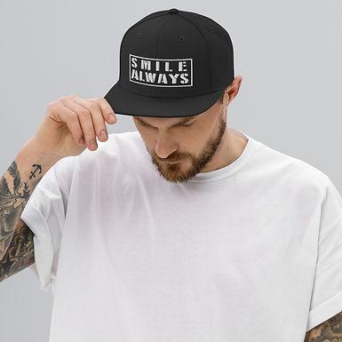Snapback Hat   Smile Always
