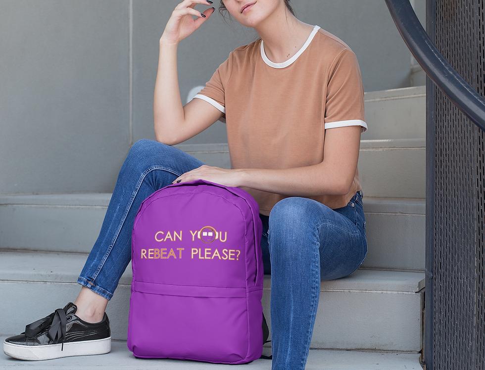 Backpack Violet   reBeat