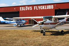 Eslövs flygklubb. Photo: Anna Larsson