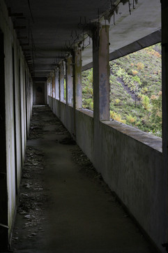 The abandoned hotelMonte Palace, The Azores.Photo: Anna Larsson.