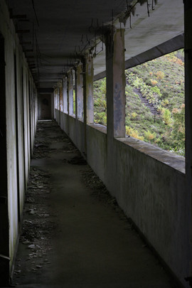 The abandoned hotel Monte Palace, The Azores. Photo: Anna Larsson.