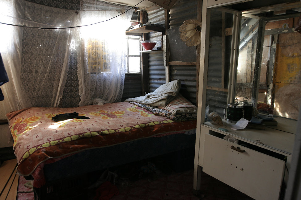 south africa The photo is taken inside a home in a squatter camp in Kensington, Cape Town. Photo: Anna Larsson