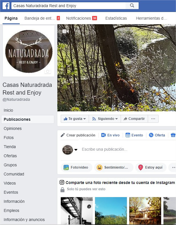 Naturadrada Fan Page Facebook