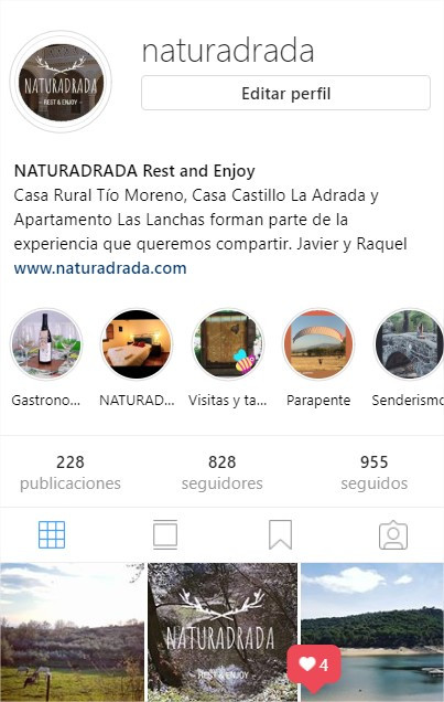 Naturadrada user Instagram