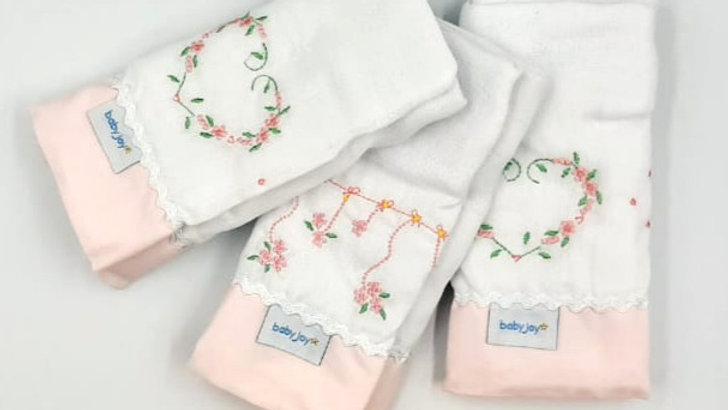 Kit fraldas supreme 03 unidades Baby Joy Premium