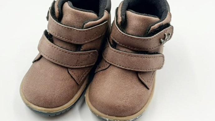 Sapato Cravinho Casual chocolate/preto KLIN 16