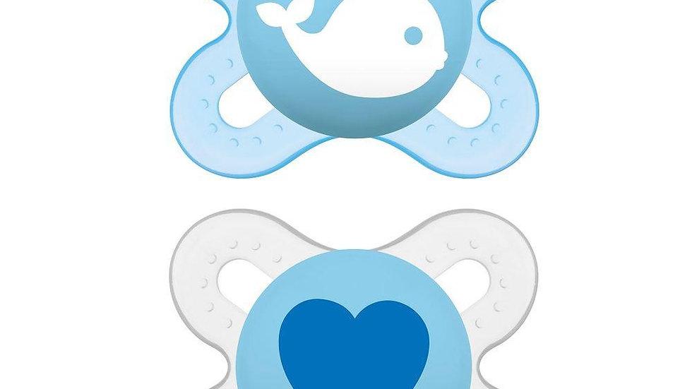 Chupeta Start decorada azul girl Mam 0-2m
