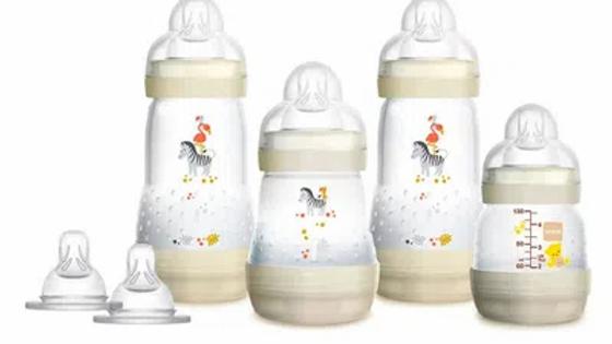 Mamadeiras Easy Start - First Bottle Gift Set - Zebra - MAM