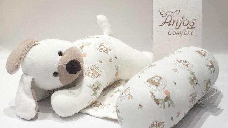 Rolinho segura bebê cachorrinho Anjos Baby