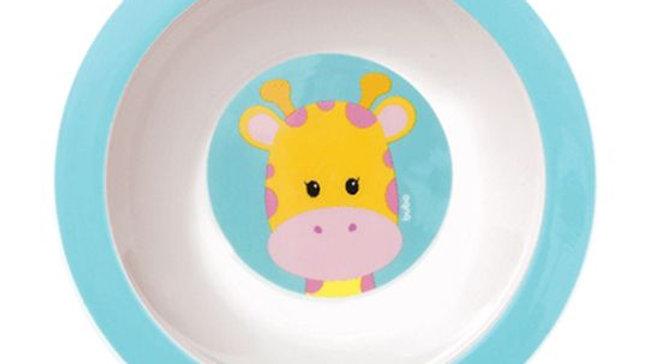 Pratinho bowl animal fun girafa Buba