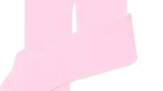 Meia calça bebê rosa 00 Selene