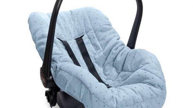 Capa para bebê conforto estrelinha azul Hug