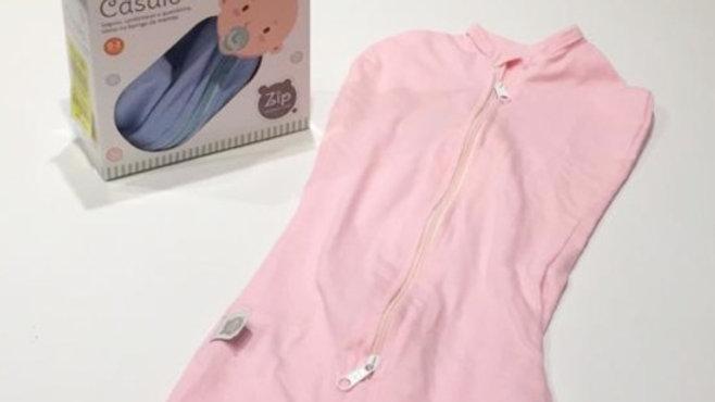 Casulo Zip rosa