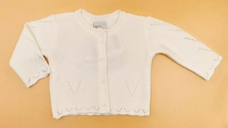 Casaco tricot feminino Baby Fashion