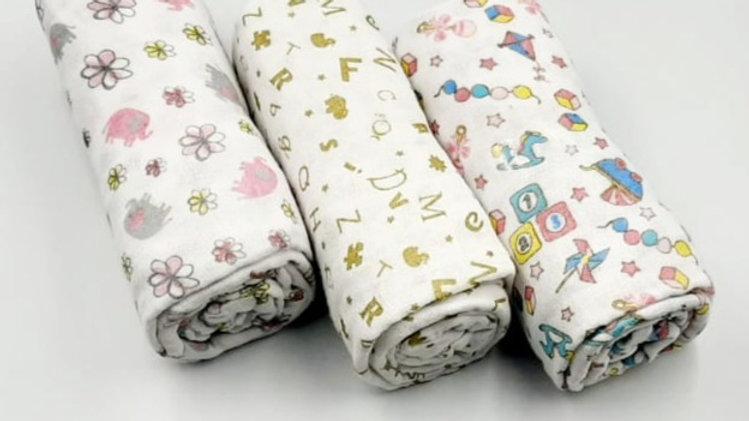 Cueiro Soft kit multifunções com 03 un Baby Joy
