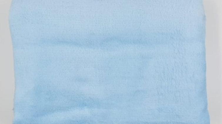 Cobertor microfibra infantil azul Parahyba