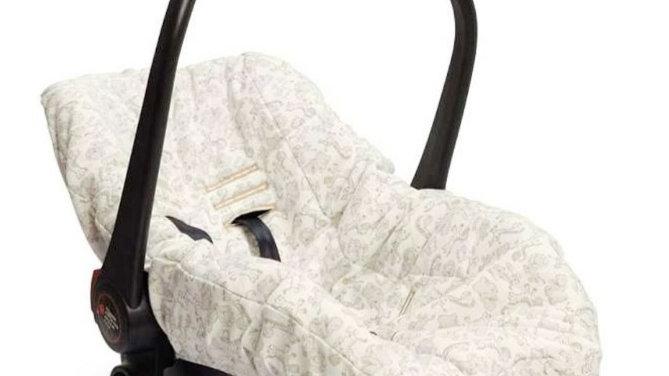 Capa para bebê conforto selva Hug