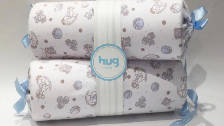 Rolinho segura bebê cavalinho Hug